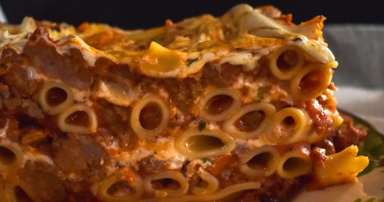 Rod Serling, Reminiscence, and Red Sauce (New Years Eve Sausage Ziti)
