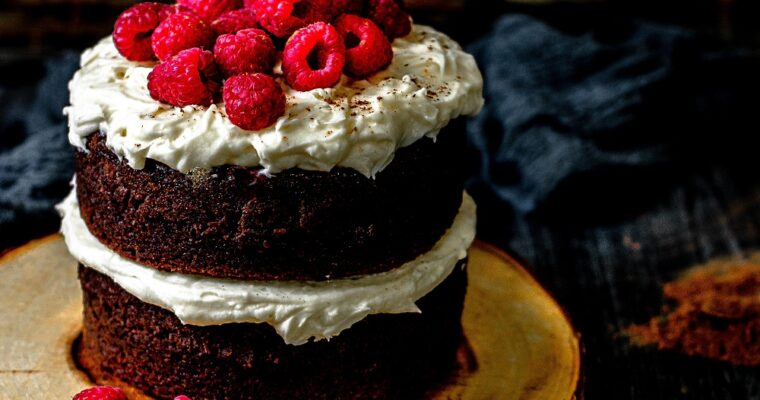Berry Guinness Chocolate Cake