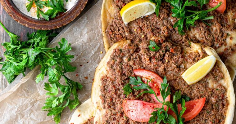 Lahmacun a.k.a Turkish Pizza