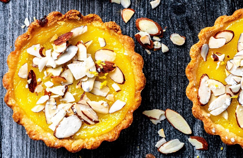 Italian Lemon Almond Tarts