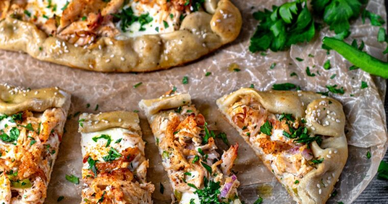 Turkish Chicken Pide